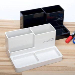 00210 Deli Pencil Pen Jar Stationery Organizer