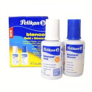 1620/2 Pelikan Correction White Fluid Blanco Set