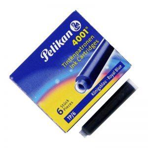 4001 Pelikan Ink cartridge small Blue