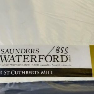 Saunders WaterFord Water Color Sheet / Aquarell Paper Sheet (rough)