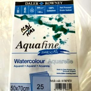 Daler Rowney Water Color Sheet / Aquarelle Paper Sheet (Smooth)