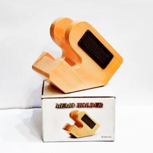 WDH 04 Golden Horse Memo Holder Paper Holder Case Slip Rack