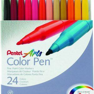 S 360 24 Pentel Arts Color Pen