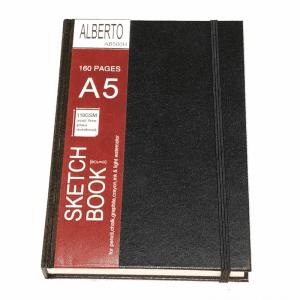 AB500h Alberto Sketch Book Hard A5