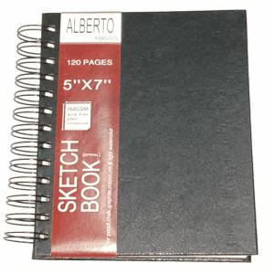 AB600S Alberto Sketch Book Spiral A6