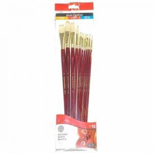 216940110 Daler Rowney Simply Oil Brush 10 piece