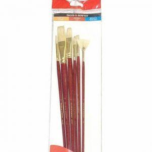 216940601 Daler Rowney Simply Oil Brush 6 piece