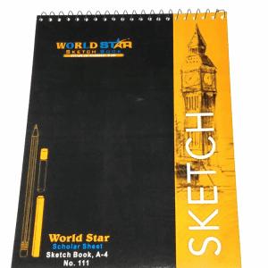 111 Sketch Book A4