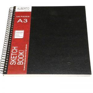 AB300S Alberto Sketch Book Spiral A3