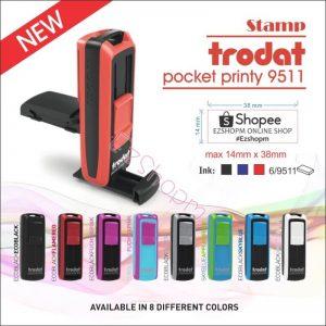 9511 Trodat Pocket Stamp