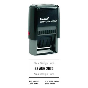 4750 P04 Trodat Dater Stamps